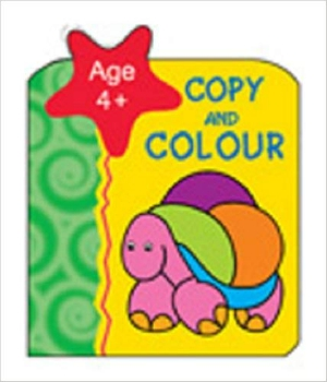 Copy And Colour Monkey Age 4