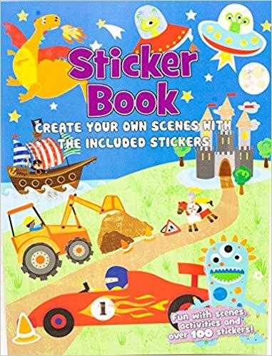 Create Your Own Scene Adventure Stickers