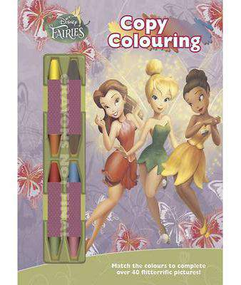 Disney Fairies Copy Colouring