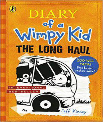Diary of a Wimpy Kid: The Long Haul (Book 9)  - Paperback