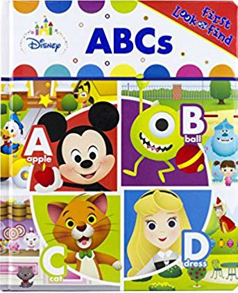 Disney Baby Abcs First Look & Find