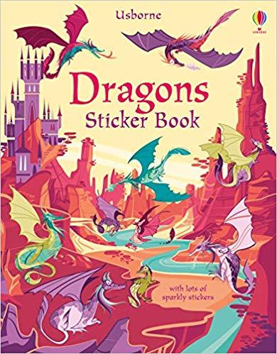 Dragons Sticker Book - (PB)