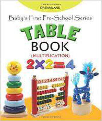 Baby's First Pre-School Series - Table Book -