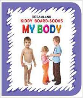 My Body Kiddy Board Book