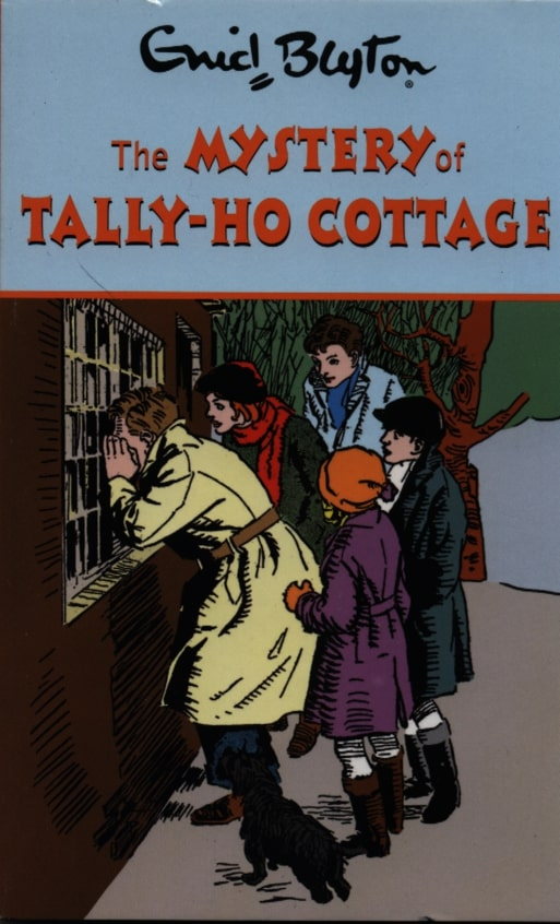 Enid Blyton the Mystery of Tally-Ho Cottage - Paperback