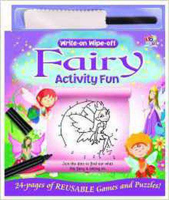 Draw on Wipe off Activity Book - Fairies (Write on Wipe Off Activity Fun)