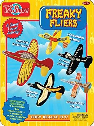 Freaky Fliers Activity Tin