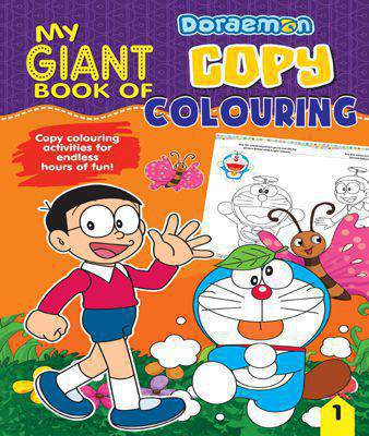 My Giant Book of Copy Colouring