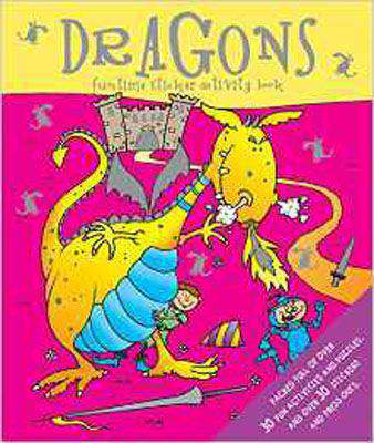 Sticker and Activity Book - Dragons: Packed with over 30 Fun Activities and 30 Stickers and Press-Outs