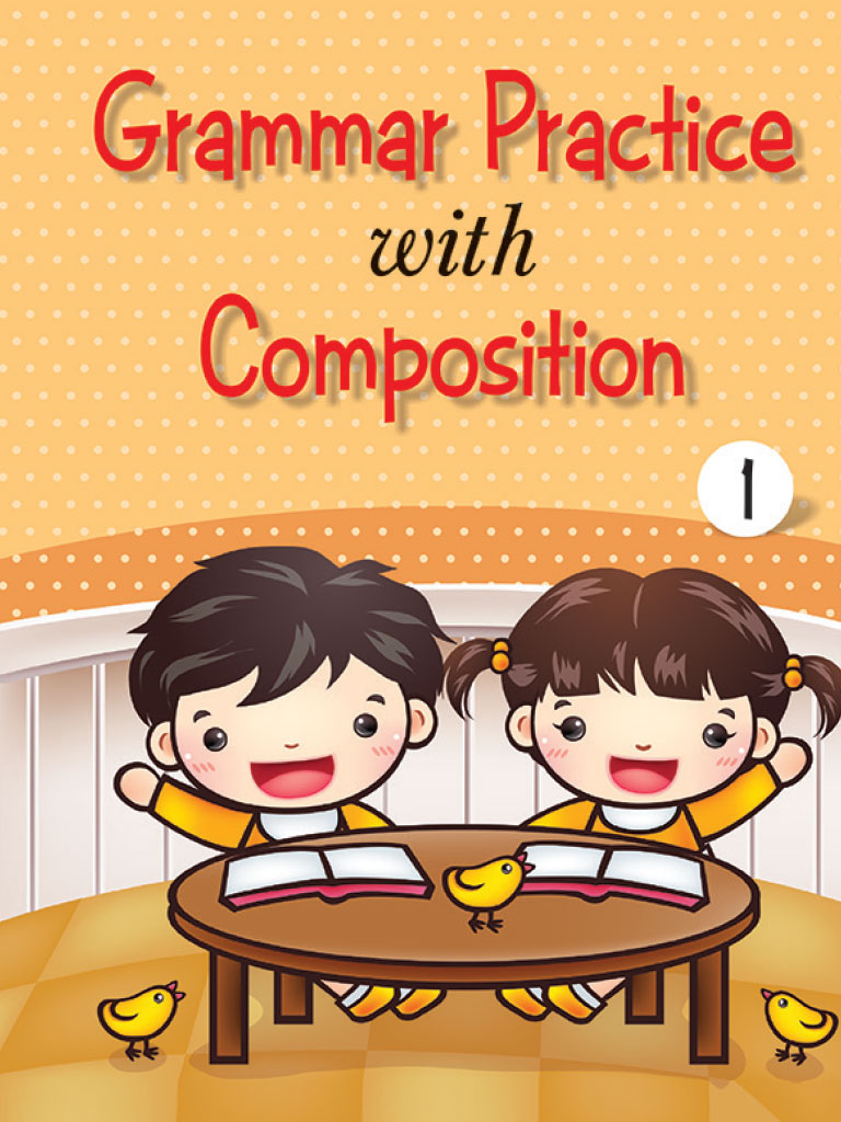 Grammer Practice with Composition Book 1