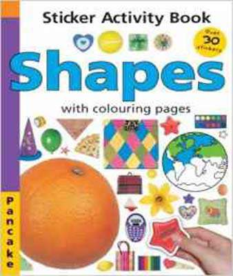Shapes: Sticker Activity Book (Pancake)