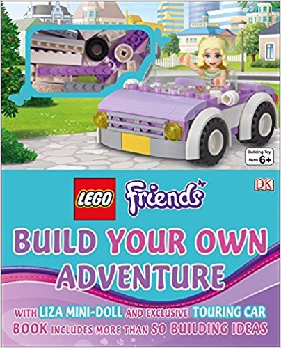 LEGO Friends Build Your Own Adventure (HB)