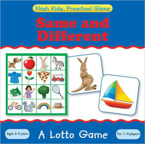 Same and Different: A Lotto Game (Flash Kids Preschool Games)