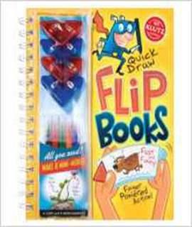 Quick Draw Flip Books (Klutz)