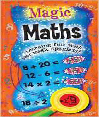 Magic Maths: Learning Fun with Your Magic Spyglass! - Hardcover