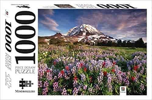 Mount Rainier National Park, Washington: Mindbogglers 1000-piece Jigsaws