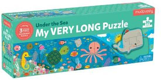 Mudpuppy mijn lange puzzel Diep in de zee - 30 stukjes