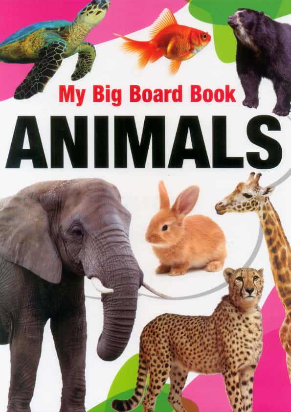 My Big Board Book Animals - (HB)