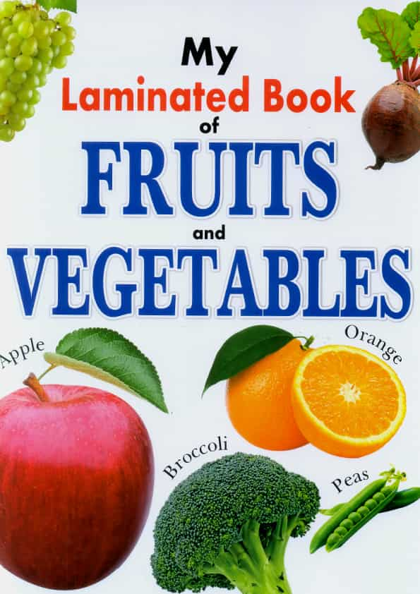 My Laminated Book of Fruits and Vegatables