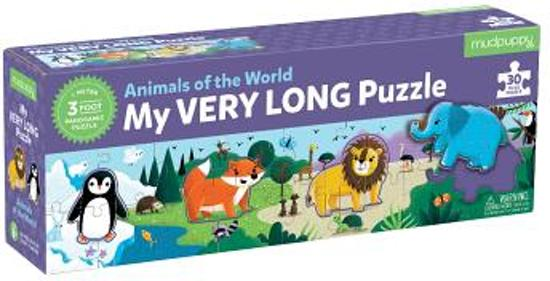 My Very Long Animals of the World Puzzle