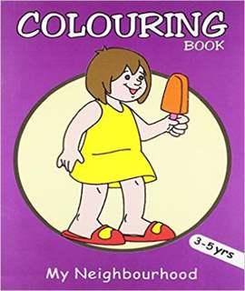 My Neighbourhood (Colouring Books)