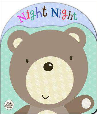 Little Learners: Shaped Foam Book 'Night Night' (Little Learners Shaped Foam Bk)