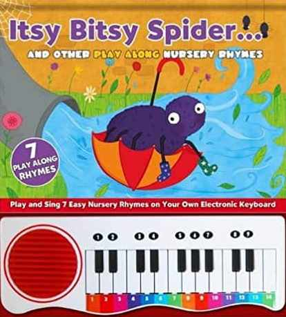 Nursery Rhymes Itsy Bitsy Spider Novelty Activity Book