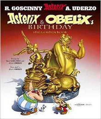 Asterix and Obelix's Birthday: The Golden Book, Album 34