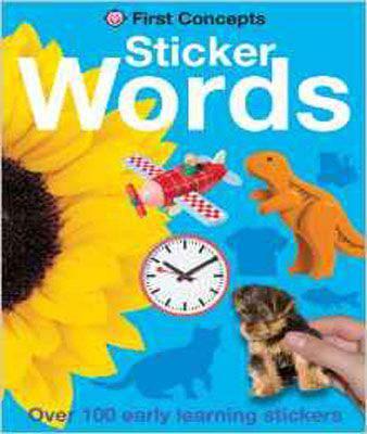 Words (First Concepts Sticker) (First Sticker Concepts)