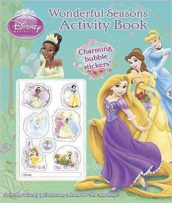 Disney Princess Wonderful Seasons Activity Book with Stickers