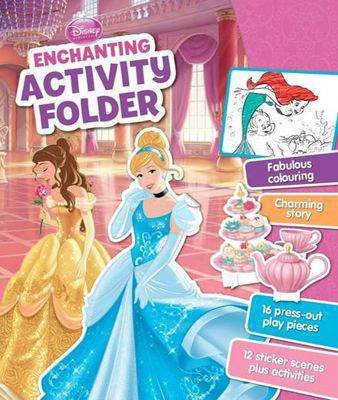 Disney Princess Enchanting Activity Folder