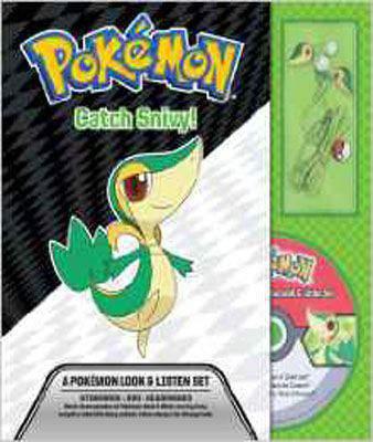 Catch Snivy! A Pokemon Look & Listen Set (Pokemon Pikachu Press)