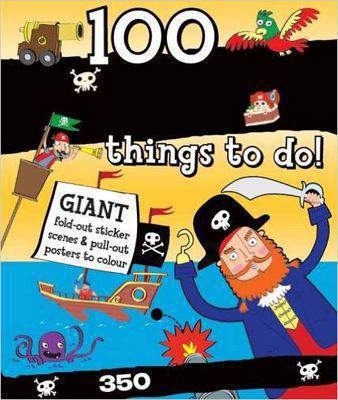 Spiral Bound Activity 100 Pirate Things to Do