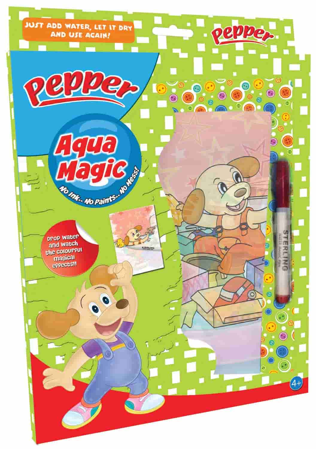 Pepper Aqua magic