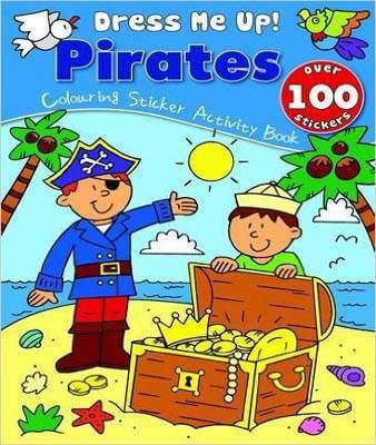 Pirates: Colouring & Sticker Activity Book