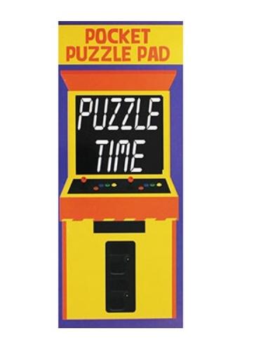 Pocket Puzzle Pad (Puzzle Time)