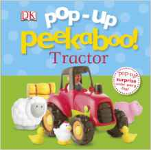 Pop-up Peekaboo Tractor -(BB)