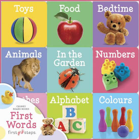 First Steps Chunky Board Books