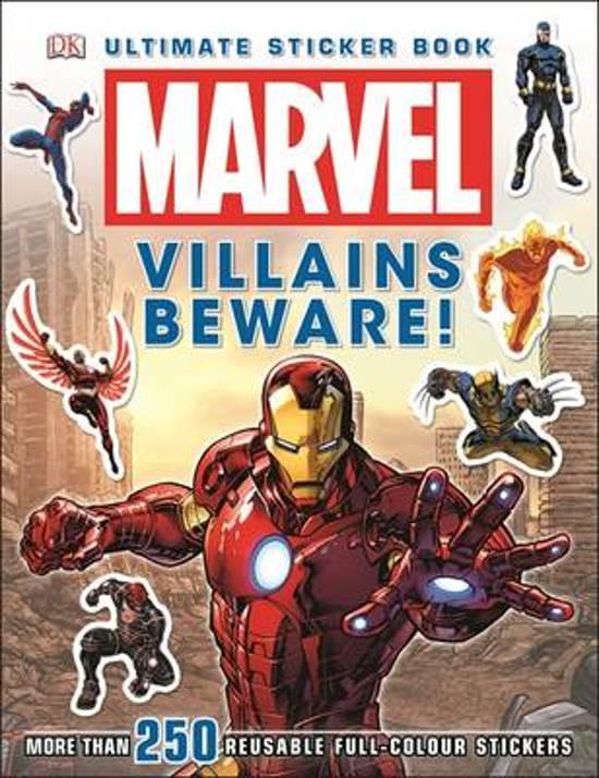 Marvel Villains Beware Ultimate Sticker Book