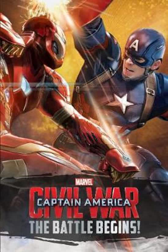 Marvel Captain America Civil War The Battle Begins!