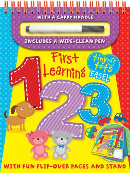 Tiny Tots First Learning 1,2,3