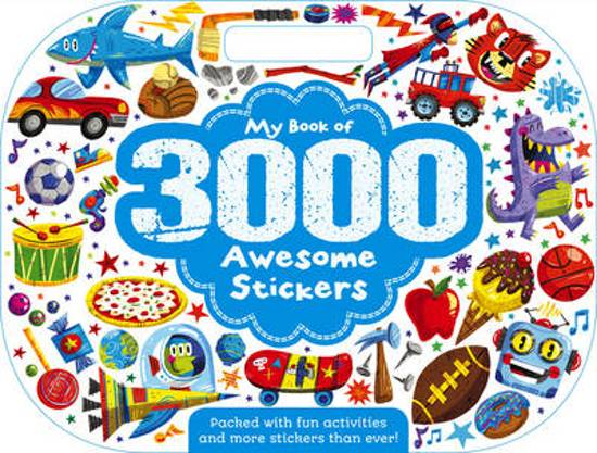 3,000 Awesome Stickers