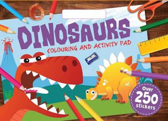 Dinosaurs Colouring Pad A3