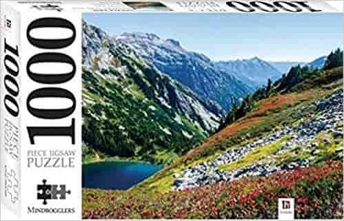 Sahale Arm, Washington, USA: Mindbloggers 1000-piece jigsaws