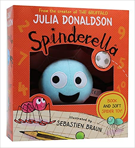 Spinderella Book & Plush Set