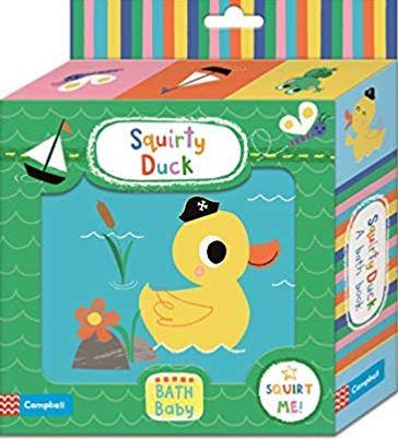 Squirty Duck Bath Book - (BB)