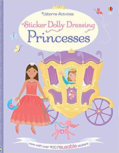 Sticker Dolly Dressing Princesses - (PB)