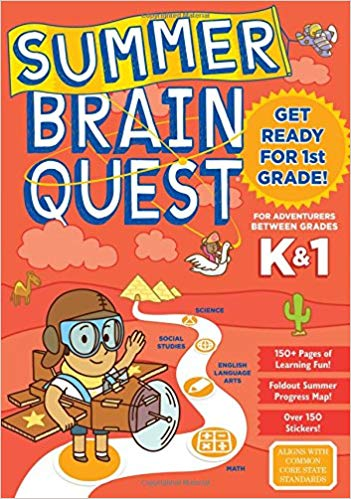 Summer Brain Quest: Between Grades K & 1 - (PB)