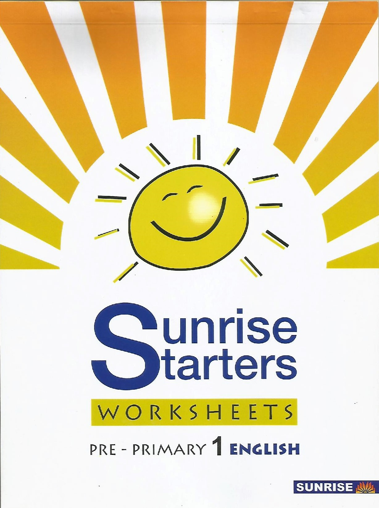 Sunrise Straters English Worksheets Pre-Primary 1 - (PB)