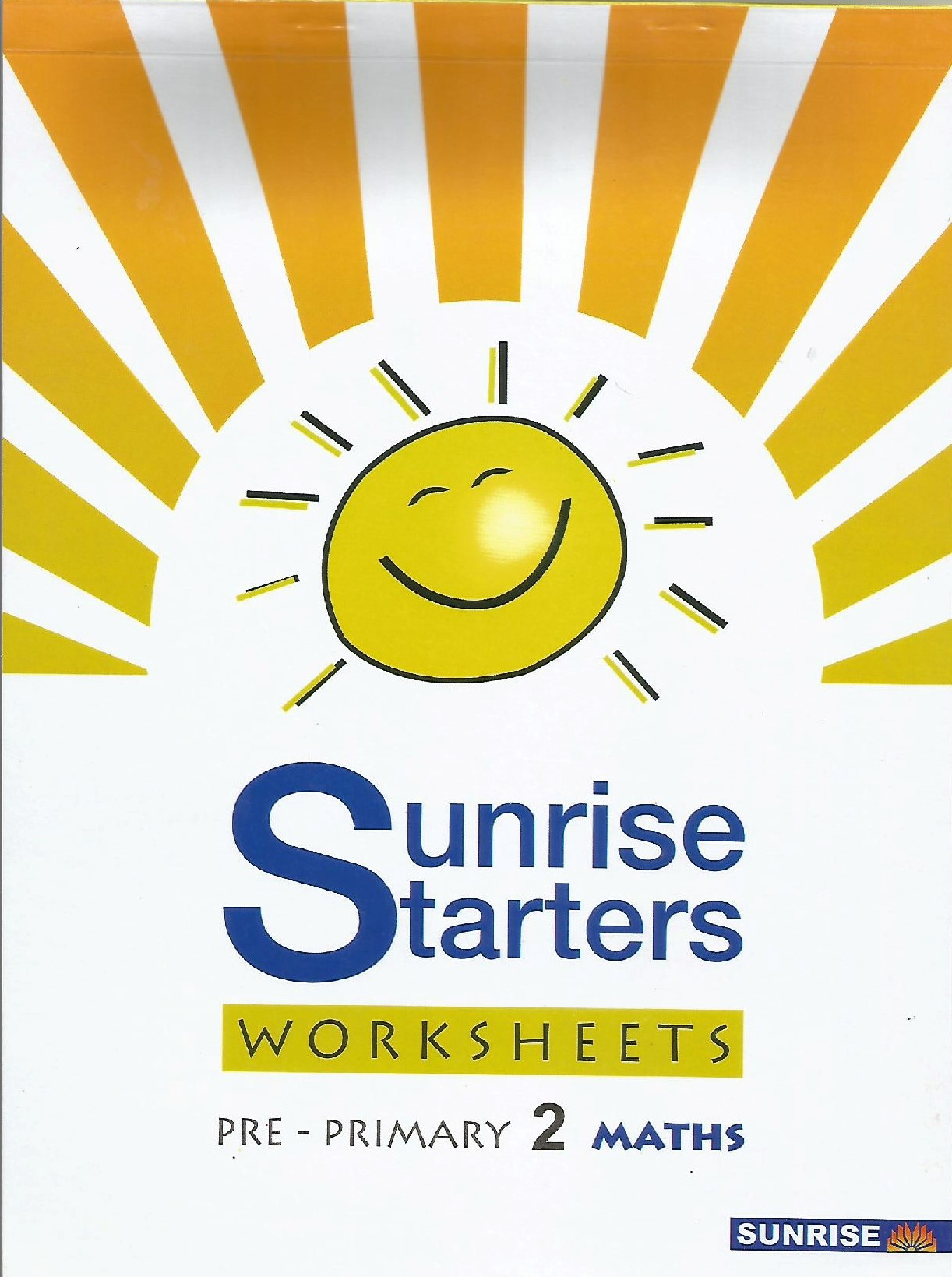Sunrise Straters Math Worksheets Pre-Primary 2 - (PB)